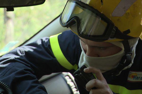 Les  Sapeurs-Forestiers alertent les secours en cas de départ de feu
