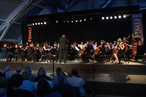 """L'orchestre symphonique """"Egressy Erkel"""" au FIMU 2013"""