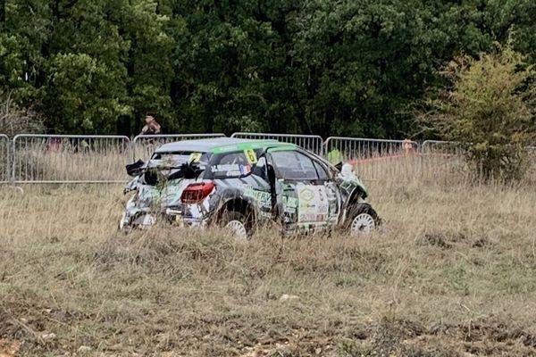 L'accident a eu lieu samedi 12 octobre vers midi, sur la commune de la Cavalerie au sud de Millau.