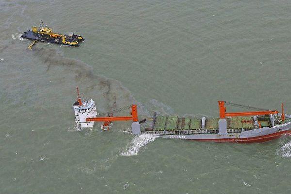 Le Flinterstar a coulé le 6 octobre dernier au large de Zeebruges