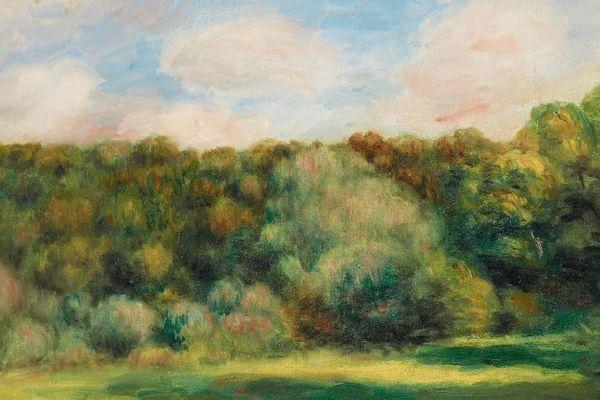 Cette huile sur toile de 32 x 40,5 cm, d'Auguste Renoir, est estimée entre 50 000et 70 000 €.