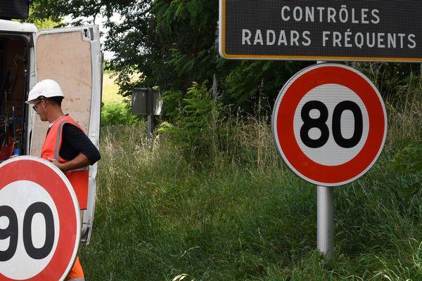 Sur les routes de Haute-Loire, l'abaissement de la limitation de vitesse à 80 km/h le 1er juillet s'est accompagnée d'une hausse considérable du nombre d'excès de vitesse relevés par des radars.