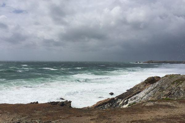 La tempête Miguel souffle dans le Morbihan
