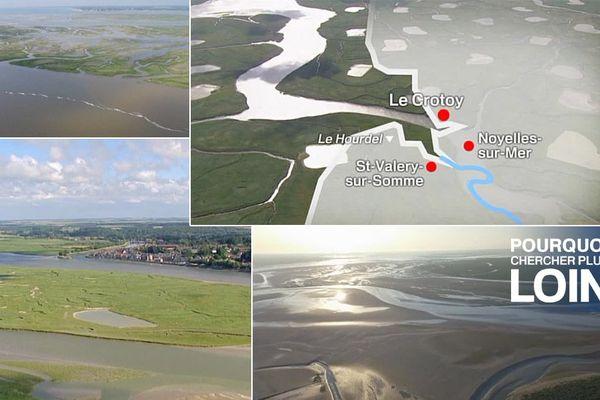 L'embouchure de la Somme offre des paysages magiques