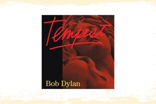 """La pochette de l'album """"Tempest"""" de Bob Dylan"""