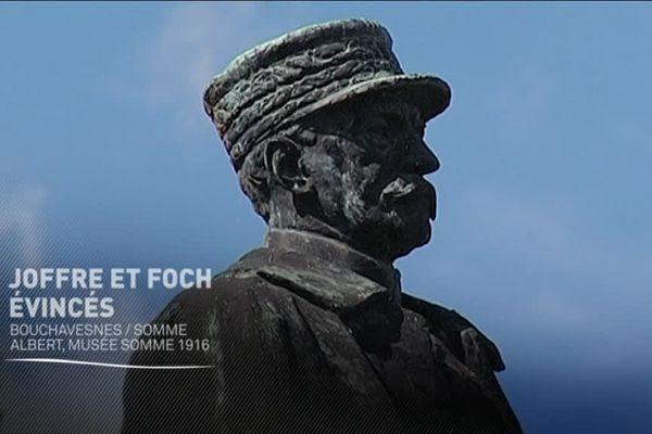 Statue de Foch à Bouchavesnes