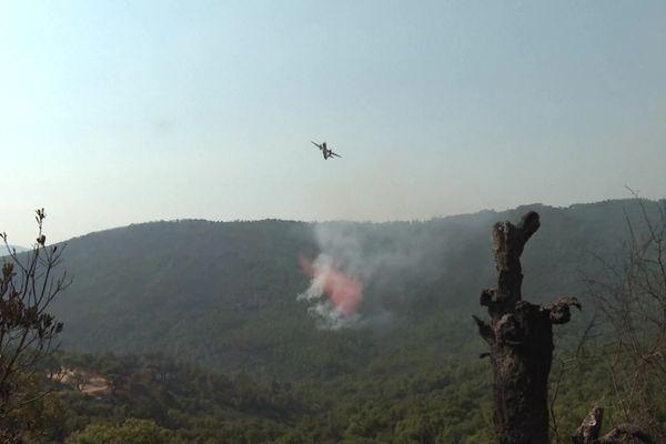 Le système breveté par l'entreprise Kepplair Evolution devrait permettre de lutter contre les incendies, comme ceux qui ont sévi dans l'Aude ou l'Hérault ces derniers-jours.