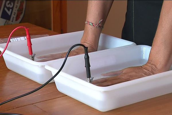 Dans l'Hérault, une entreprise familiale a mis au point un appareil qui garde les mains et les pieds au sec !