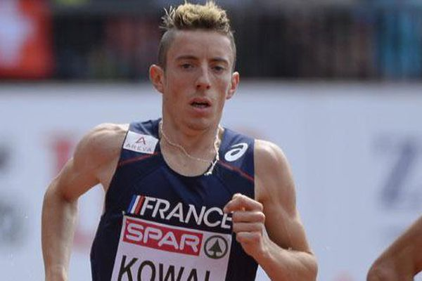 L'athlète français Yoann Kowal lors des championnats d'Europe à Zurich (2014)