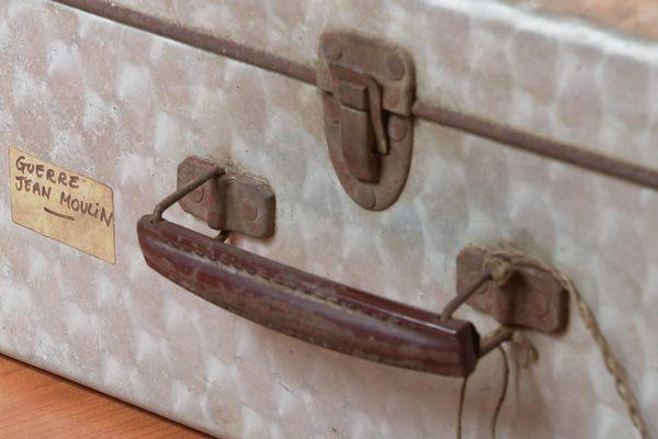 La valise secrète de Jean Moulin est en carton