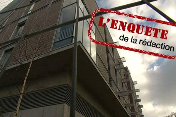 Le bâtiment de l'hôpital Américain de Reims à 40 millions d'euros abandonné