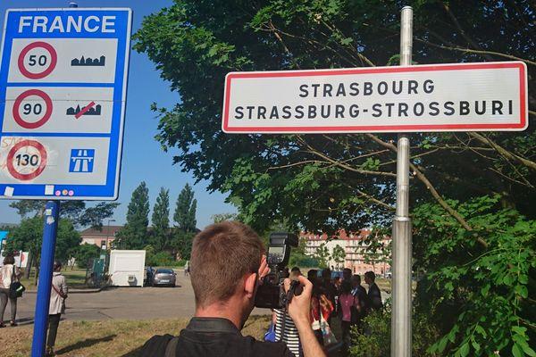 De nouveaux panneaux bilingues pour Strasbourg