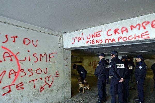 La police visite régulièrement les parkings en sous-sol