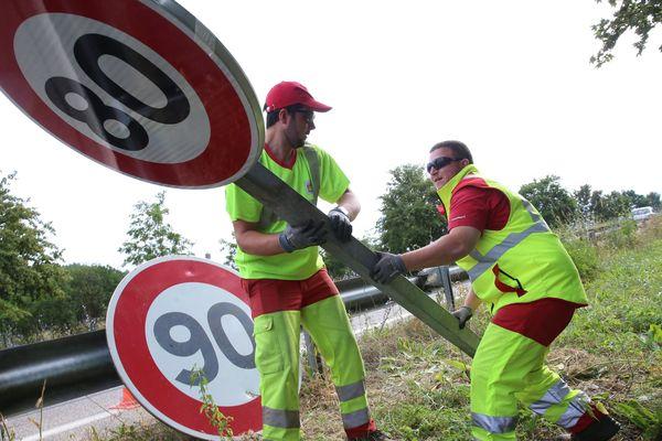 Le conseil départemental du loiret vient de voter une nouvelle limitation de vitesse : il veut le retour aux 90 km/h.