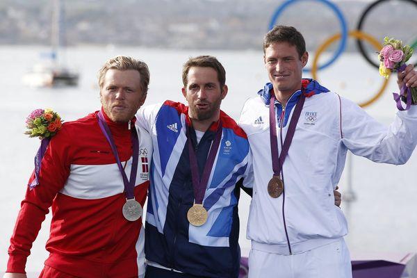 Le podium olympique de 2012.