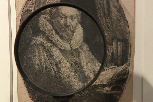 La saison 2 du Cabinet Rembrandt dévoile 36 nouvelles gravures du peintre hollandais à Grenoble.