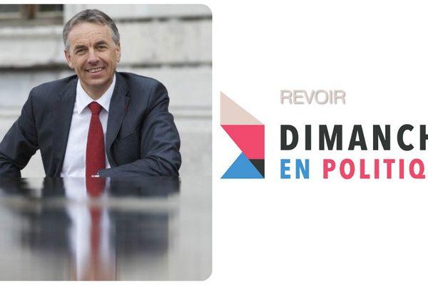 Jean-Luc Rigaut, maire UDI d'Annecy, invité de Dimanche en Politique
