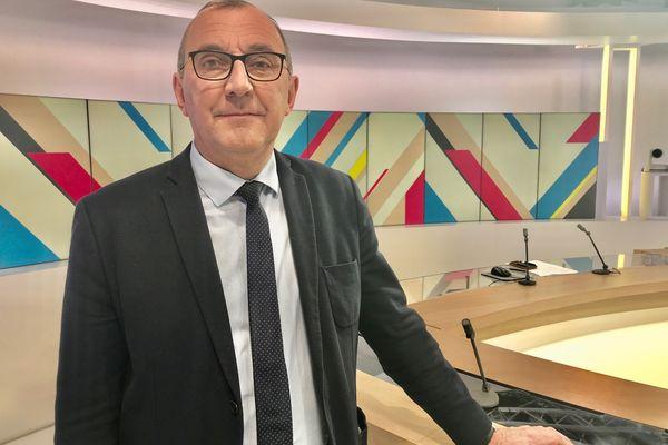 Gilles Pennelle est conseiller régional. Il sera la tête de liste du Rassemblement national pour les élections régionales.