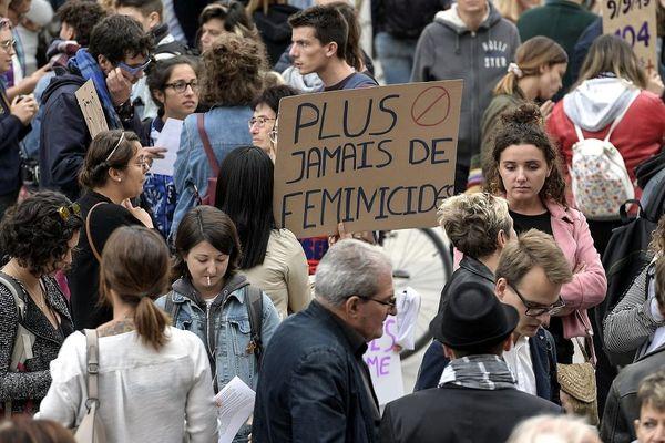 Manifestation pour lutter contre les féminicides le 9 septembre dernier