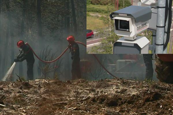 Le SDIS 72 dispose de 12 points de surveillance pour lutter contre les feux de forêt dans la Sarthe.