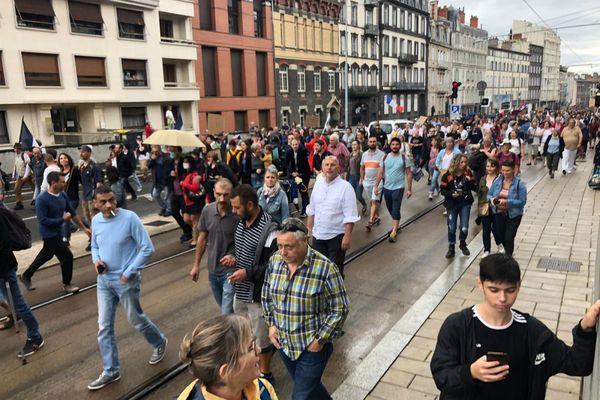 Environ 2500 personnes ont manifesté à Clermont-Ferrand
