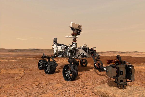 Le rover Perseverance a pour mission de repérer et collecter des échantillons témoignant d'une vie passée sur Mars.