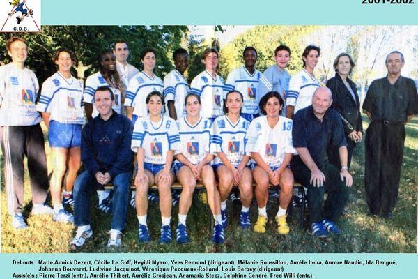2001-2002 : 3e de D1, qualifié pour la coupe d'Europe Challenge !