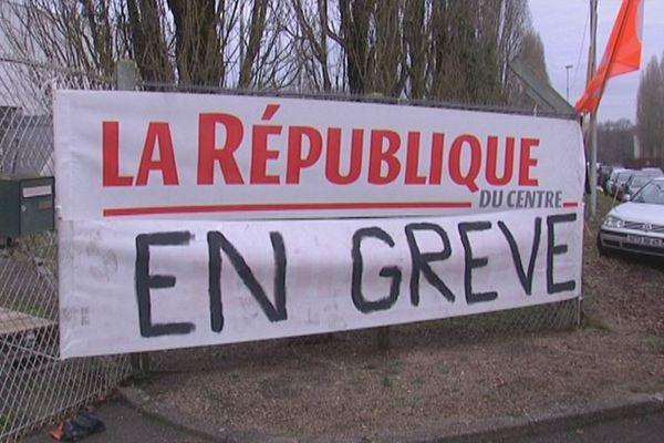 La République du Centre en grève