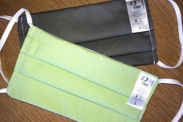 Des masques en tissu certifiés par le CHU de Lille