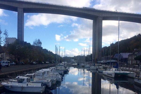 Le port du Légué, à Saint-Brieuc