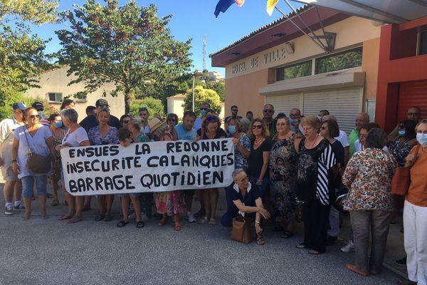 Les habitants d'Ensuès-la-Redonne réclament des moyens pour être protégés