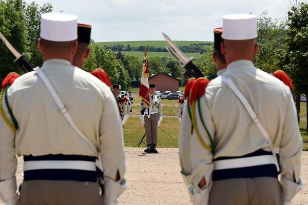 La 13ème demi-brigade de Légion étrangère s'est installée sur le plateau du Larzac en 2016.