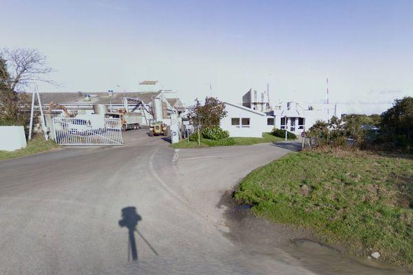 Le site de Cargill, à Lannilis, dans le Finistère