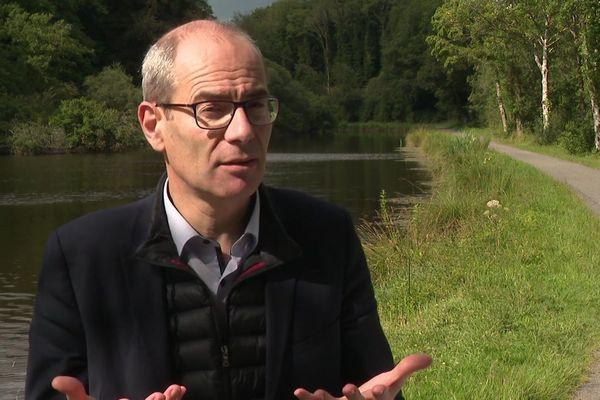 Yannick Kerlogot, député de la 4e circonscription des Côtes d'Armor