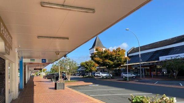 Même avant le confinement, les rues de Rotorua sont désertes