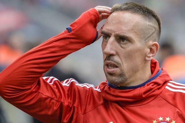 Le Boulonnais Franck Ribéry lors d'un match opposant le Bayern Munich au Mainz 05 de Mayence, le 16 septembre.