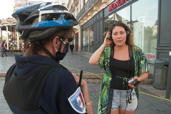 Depuis ce mardi 11 août, le port du masque est obligatoire en extérieur dans certains lieux très fréquentés du centre-ville de Montpellier, dans l'Hérault.