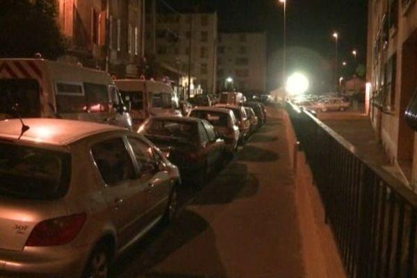 """Les faits se sont déroulés samedi vers 23h45 dans une rue du XIVe arrondissement, qualifiée de """"très calme""""."""