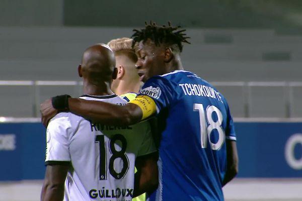 L'ancien Caennais Malik Tchokounté a arraché le nul pour Dunkerque à la 85e minute face au Stade Malherbe.