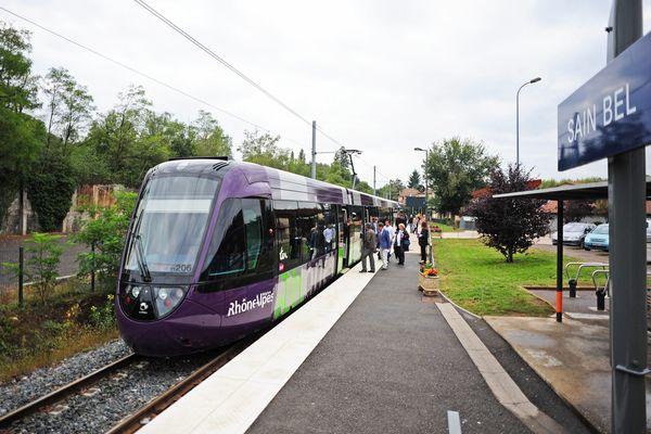 Tram-train de l'Ouest-Lyonnais