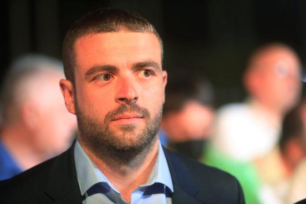 Sébastien Olharan est le nouveau conseiller départemental du canton de Contes, dans les Alpes-Maritimes.