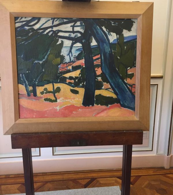 Marseille : un tableau du peintre Derain, butin des nazis a été restitué à ses propriétaires le 27 janvier 2021.