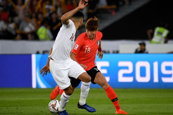 Hwang Ui-jo, attaquant international sud-coréen, première recrue des Girondins lors de ce mercato.
