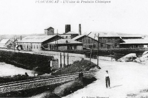 L'usine de produits chimiques de Plouescat