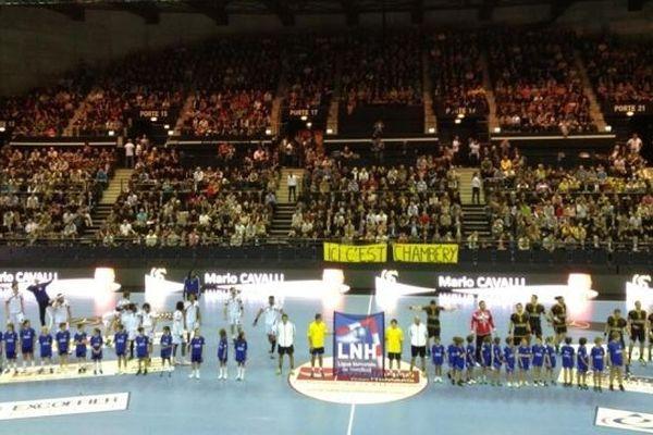 Le bon point de cette rencontre Chambéry - PSG, une ambiance de folie !