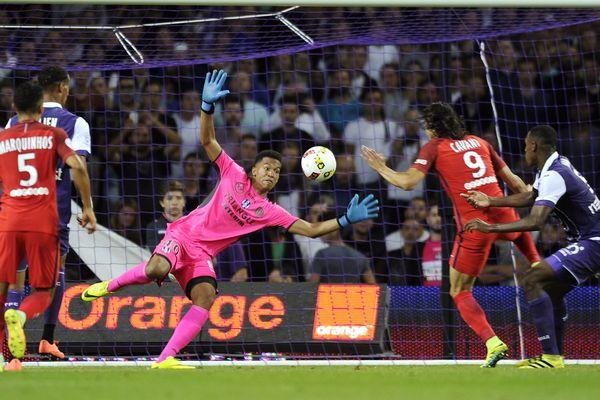 Le TFC a reçu le PSG, le 23 septembre 2016 (2-0).