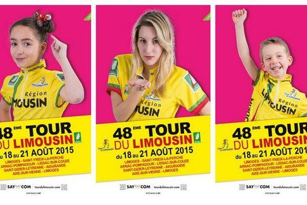 Les affiches du tour du Limousin 2015 ont été présentées hier.