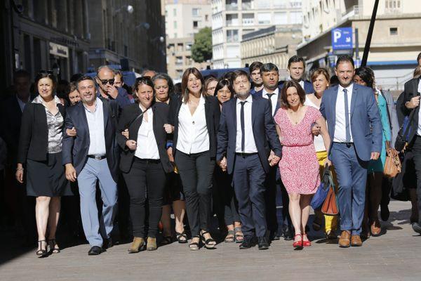 L'arrivée samedi du printemps Marseillais au conseil municipal