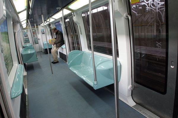 Le métro lillois.