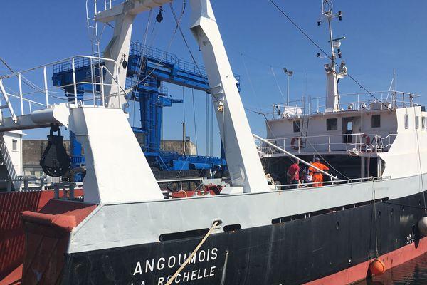 L'Angoumois revient au Musée Maritime après plusieurs semaines de restauration.